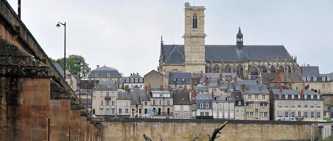 Le roman d'Édouard Estaunié «L'Empreinte»(1896) se déroule dans la ville de Nevers. Image d'illustration.