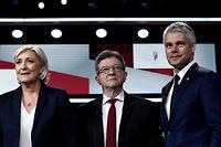 Marine Le Pen, Jean-Luc Mélenchon ou Laurent Wauquiez remporteront-ils la palme du meilleur adversaire politique du président de la République ?