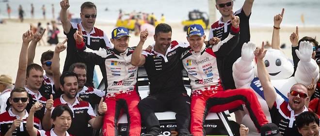 Ott Tänak remporte au Portugal sa 3e victoire de la saison, la deuxième consécutive après le rallye du Chili.