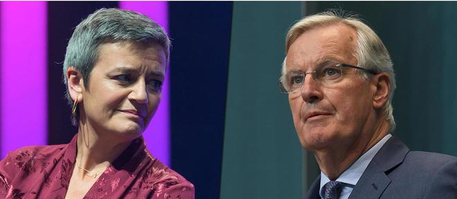 Le negociateur europeen du Brexit et la commissaire europeenne a la Concurrence sont les favoris pour prendre la tete de la Commission.