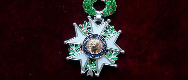 La médaille de chevalier de la Légion d'honneur.