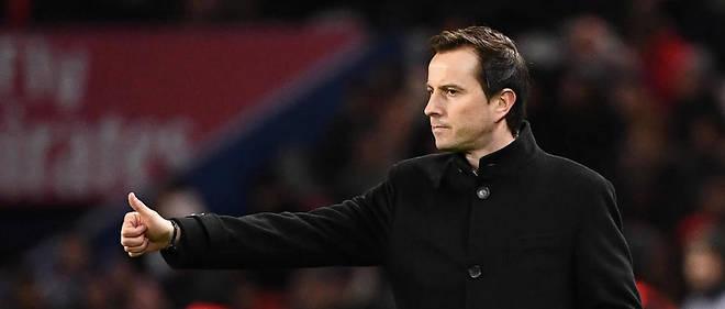 Julien Stéphan était arrivé sur le banc du FC Rennes début décembre en remplacement de Sabri Lamouchi.