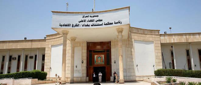 La cour d'appel de Bagdad, où ont été condamnés à mort plusieurs djihadistes français.