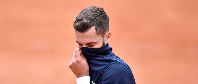 Le Français, qui a pourtant servi pour le match au cinquième set, s'est finalement incliné face au Japonais Kei Nishikori.