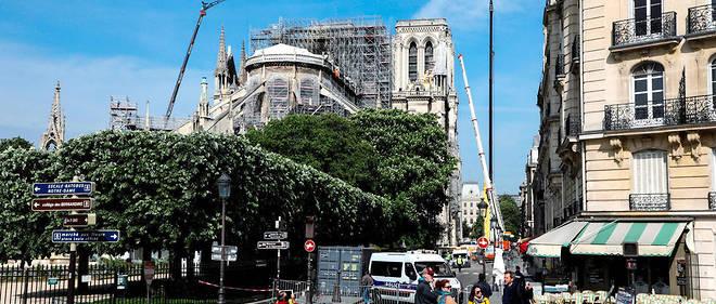 Notre-Dame a été partiellement détruite par un incendie le 15 avril 2019.