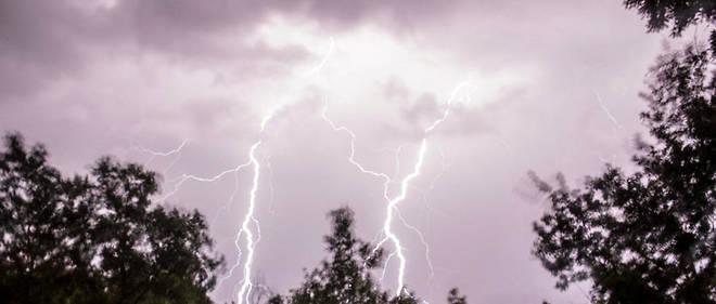 De violents épisodes orageux accompagnés de chutes de grêle sont attendus sur l'est de la France