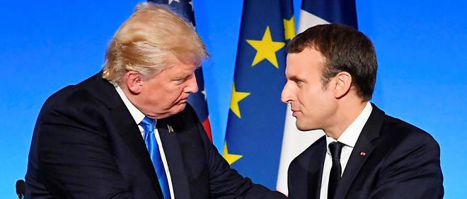Donald Trump et Emmanuel Macron sont condamnés à se supporter.