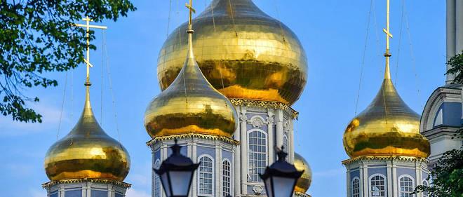 La cathédrale de Tula en Russie.