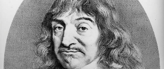 Portrait de Rene Descartes (1596-1650).