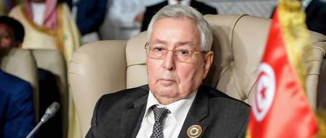 Abdelkader Bensalah a été désigné chef de l'État par intérim le 9 avril 2019.
