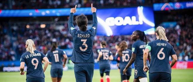 Record de téléspectateurs pour les bleues pour leur match d'ouverture face à la Corée.