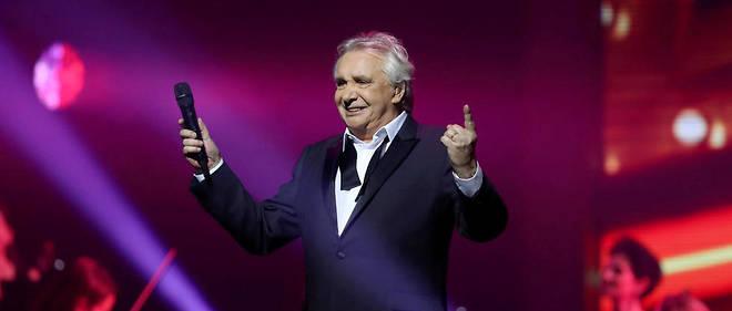 Michel Sardou lors de son dernier concert en 2018.