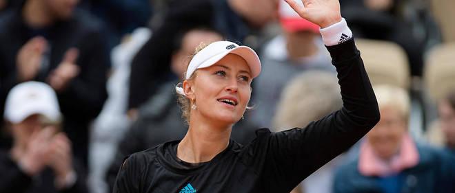 Kristina Mladenovic a remporté son troisième trophée du Grand Chelem.