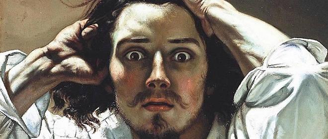 « Le Désespéré », réalisé entre 1843 et 1845, est souvent présenté comme un autoportrait de Gustave Courbet. Il fait aujourd'hui partie d'une collection privée. Une « variante » de cette toile existe à la National Gallery d'Oslo (Norvège).
