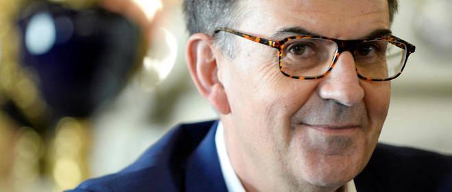 David Kimelfeld est devenu président de la Métropole de Lyon quand Gérard Collomb a été nommé ministre de l'Intérieur.