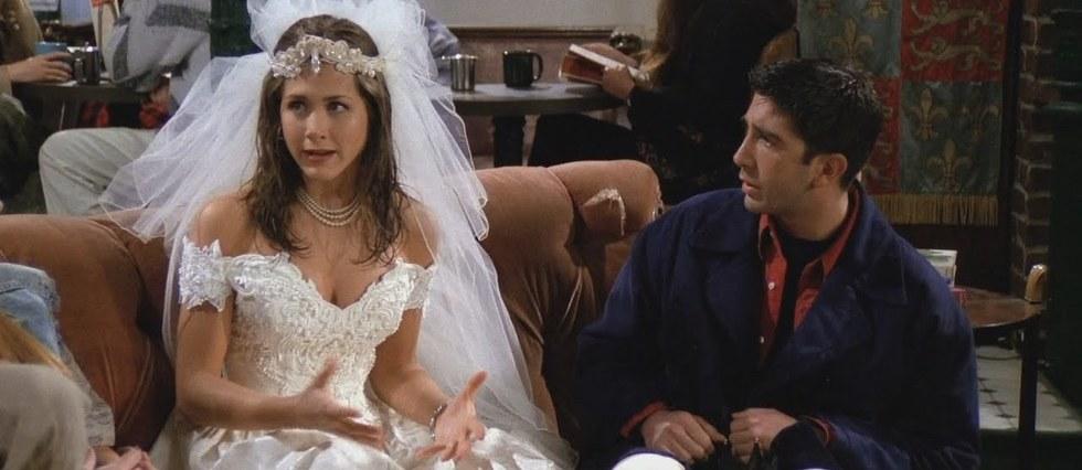 <p>Rachel et Ross dans «Friends».</p>