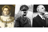 Napoléon 1er, Hitler et de Gaulle