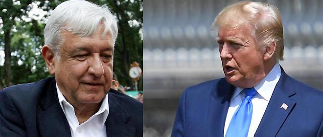 Le président du Mexique Andrés Manuel López Obrador, « AMLO », et Donald Trump jouent leur crédibilité sur cet accord.
