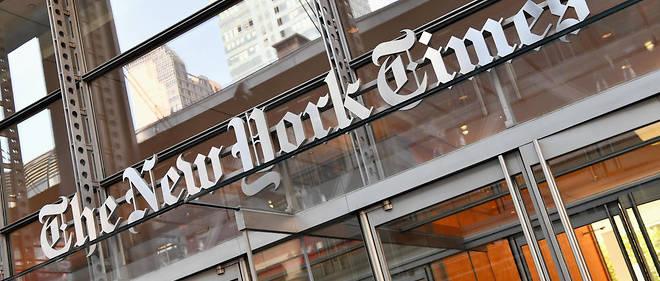 """Le """"New York Times"""" avait publié fin avril un dessin mettant en scène Donald Trump et Benjamin Netanyahu. Photo d'illustration."""