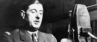 L'appel du 18 juin du général de Gaulle.
