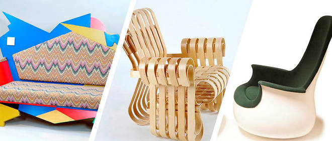 Paris: soixanteans de mobilier d'architectes