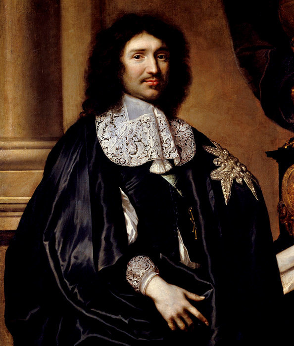 Colbert peint par Lefebvre (1666).