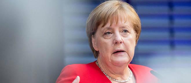 Angela Merkel le 21 mai 2019.