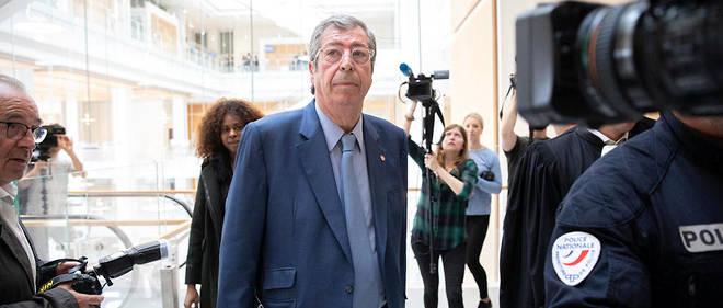 Patrick Balkany à son procès.