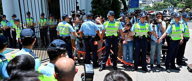 Avec ce projet de loi, Hong Kong a connu ses pires violences politiques depuis sa rétrocession à la Chine en 1997.