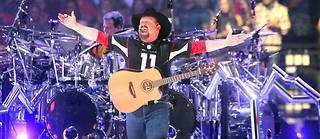 Garth Brooks en concert à Glendale (Arizona), le 23 mars.