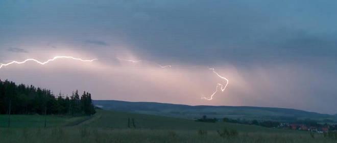 Les orages ont lourdement frappé la Drôme samedi 15 juin 2019.