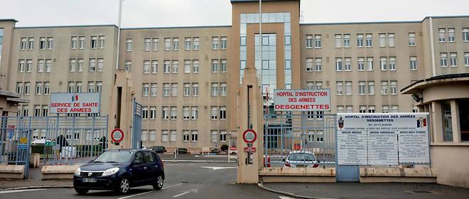 L'incident a eu lieu devant l'hôpital d'instruction des armées Desgenettes à Lyon.
