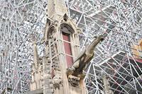Quelle flèche pour Notre-Dame et ses célèbres gargouilles?