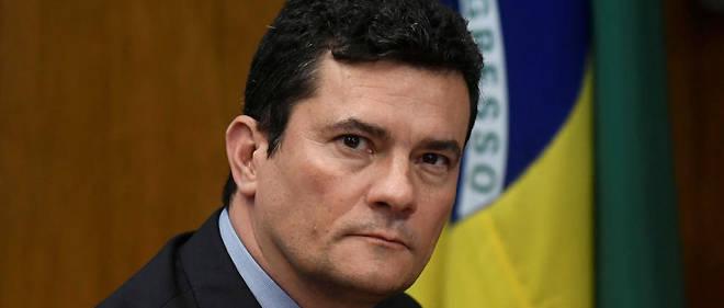 Depuis le 1er janvier, Sergio Moro est ministre de la Justice et de la Sécurité publique.