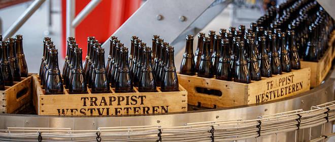 L'abbaye produit seulement 4800hl par an, soit1440000 bouteilles de 33cl.