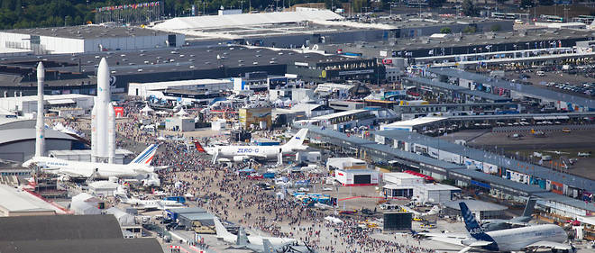Le Salon du Bourget en 2017.