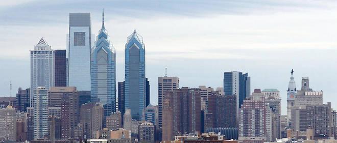 La skyline de Philadelphie, aux États-Unis.