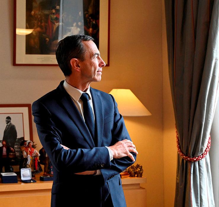 Bruno Retailleau. Sénateur de la Vendée, président du groupe Les Républicains au Sénat. Auteur de «Refondation» (Ed. de l'Observatoire).