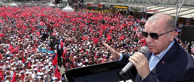 Erdogan a affirmé durant un meeting qu'il «ferai(t) tout» pour que les responsables soient jugés.