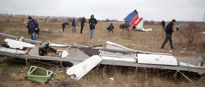 Le crash du MH17 avait fait 298 morts en 2014.