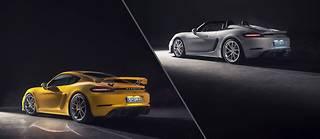 Les Spyder et Cayman GT4 sont désormais les seules Porsche 718 à être animées par un 6 cylindres.
