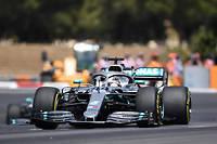 Pour la deuxième année consécutive, Lewis Hamilton remporte le Grand Prix de France au Castellet.