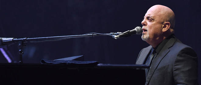 Billy Joel etait en concert a Londres. Image d'illustration.