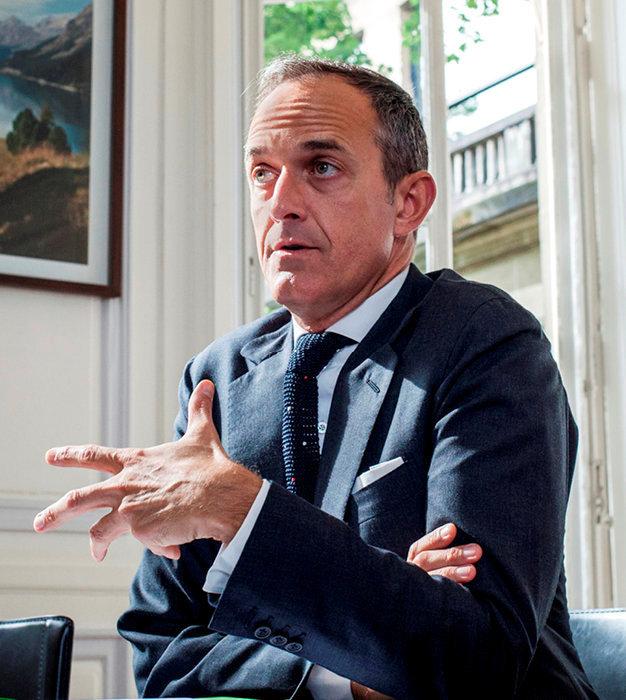 Frédéric Mion, directeur de l'Institut d'études politiques de Paris.