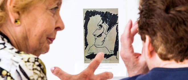 Parmi les œuvres qui ont fait polémique, ce dessin de Quibe baptisé «Close», mais attribué à un peintre mort en 1972.