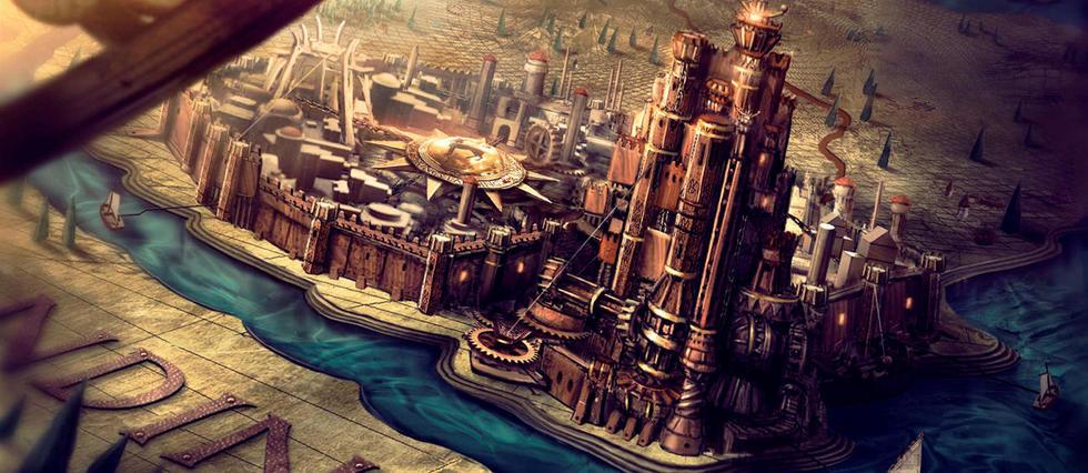 <p>La carte de Westeros dans « Game of Thrones ».</p>