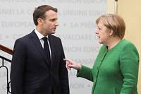 Emmanuel Macron et Angela Merkel jouent un double jeu...