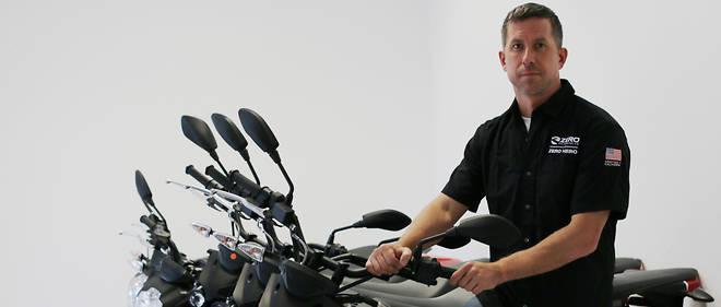 Sam Paschel, le patron de Zero Motorcycles, leader mondial du deux-roues électrique.