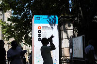 Lors des Rencontres de la photographie à Arles l'année dernière.