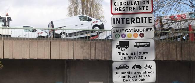 Les véhicules les plus anciens sont repoussés toujours plus loin de Paris